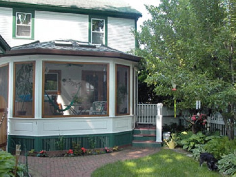 Exterior Four Season Porch Addition