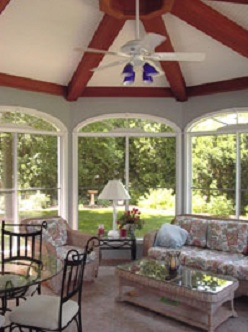 SunRoom Addition Interior