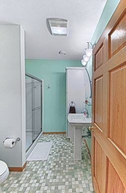 Extra Bathroom created in Basement