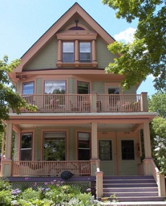Historic Porch Remodel upper and lower